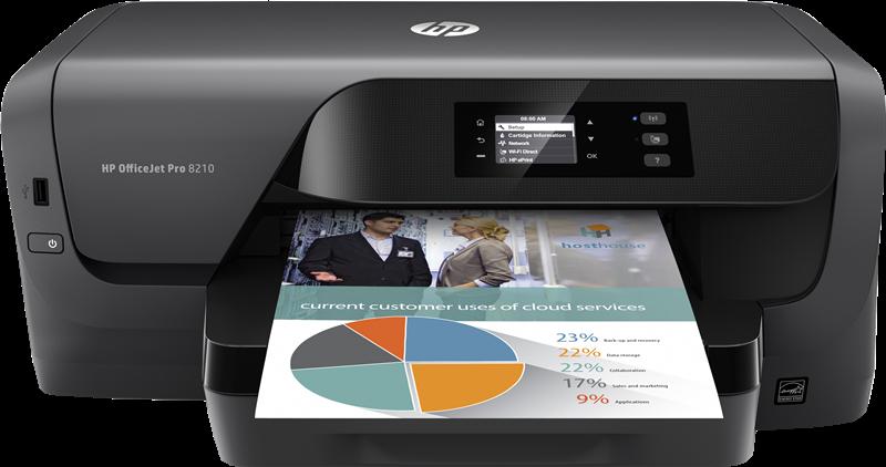 Inkjet Printers HP Officejet Pro 8210