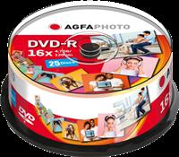 Agfa Photo 1x25 DVD-R / 4,7 GB / Cakebox