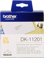 labels Brother DK-11201
