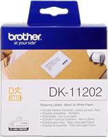 labels Brother DK-11202