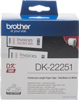 labels Brother DK-22251