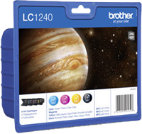 multipack Brother LC-1240-BK C M Y