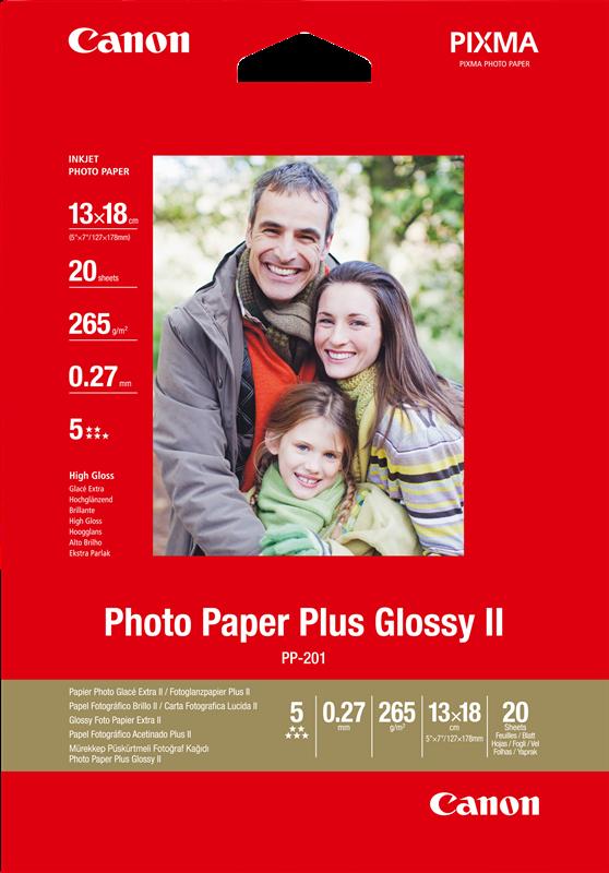 Photo paper Canon PP-201 13x18