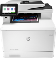Color Laser Printer HP Color LaserJet Pro MFP M479fdw