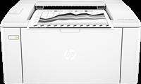 Laser Printer Black and White  HP LaserJet Pro M102w