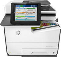 Multifunction Device HP PageWide Enterprise Color MFP 586dn