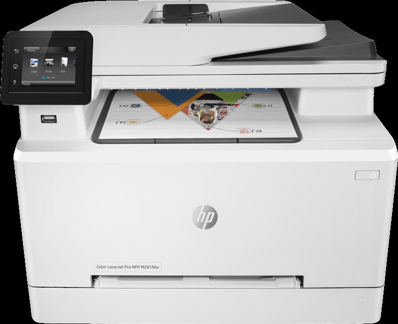 Multifunction Device HP Color LaserJet Pro MFP M281fdw