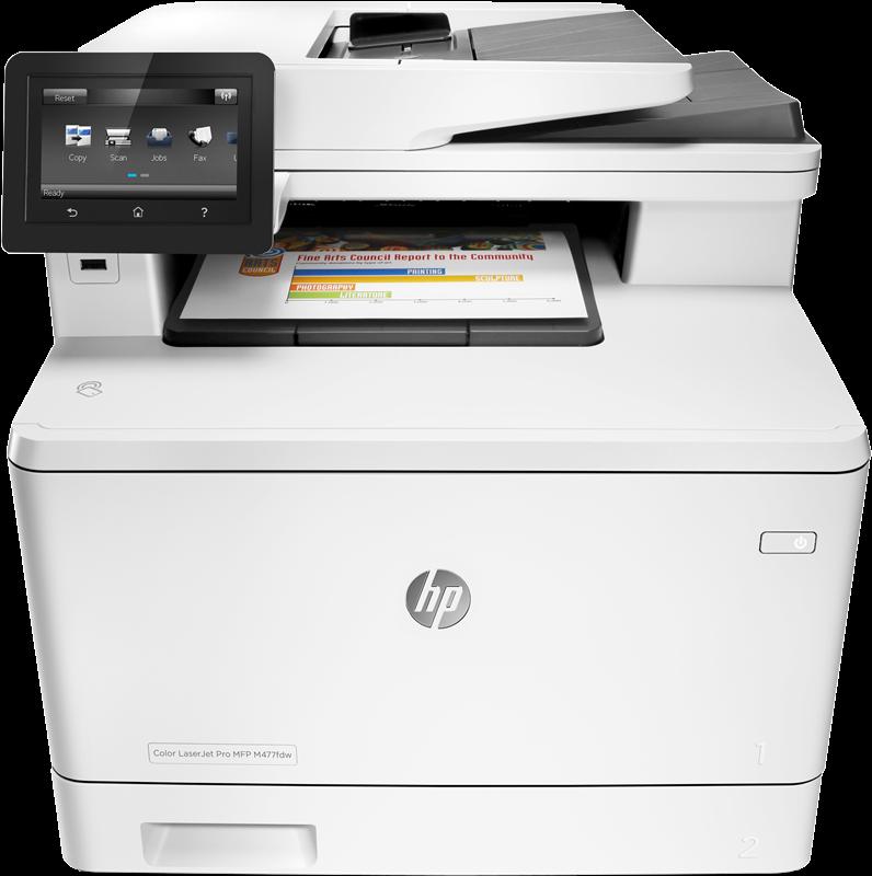 Multifunction Device HP LaserJet Pro M477fdn