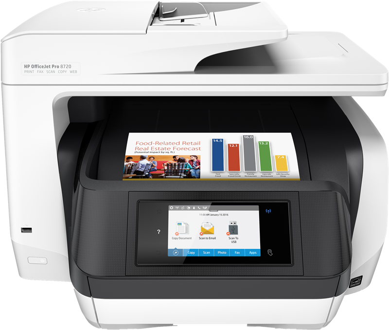 Multifunction Printers HP Officejet Pro 8720