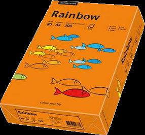 Papyrus Rainbow colored copy paper Orange - prindo.co.uk ...