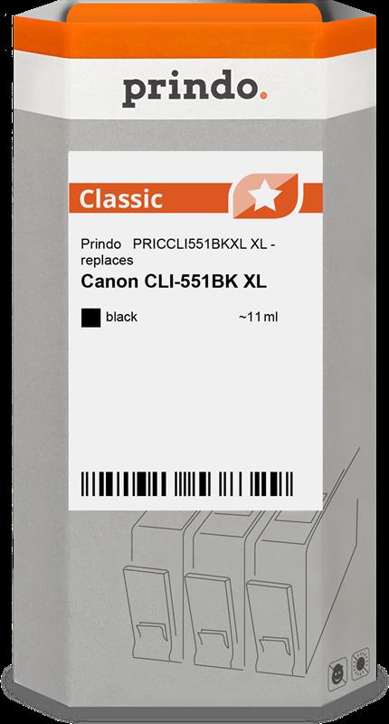 ink cartridge Prindo PRICCLI551BKXL