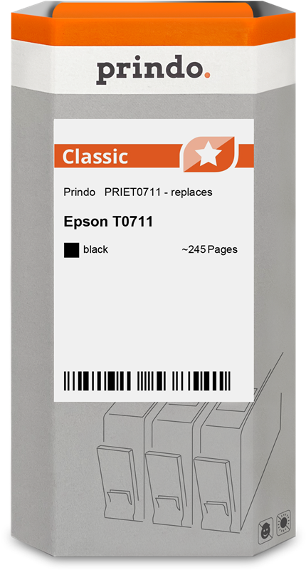 ink cartridge Prindo PRIET0711