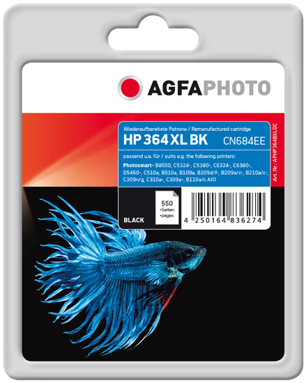 ink cartridge Agfa Photo APHP364BXLDC
