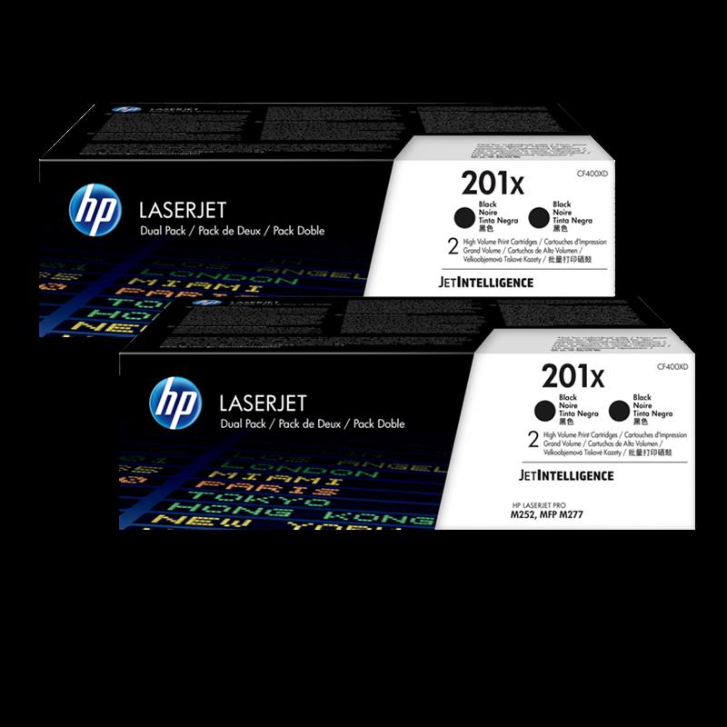 multipack HP 201X Promo-Pack