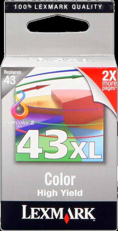 ink cartridge Lexmark 43 XL